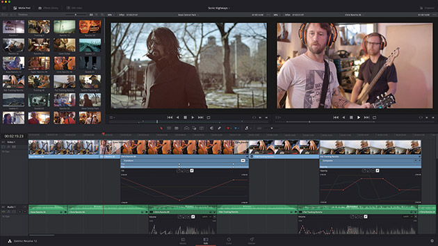 davinci resolve 12.5 video editor