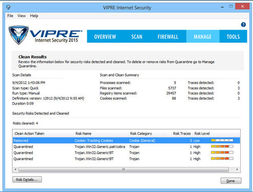 free vipre internet security