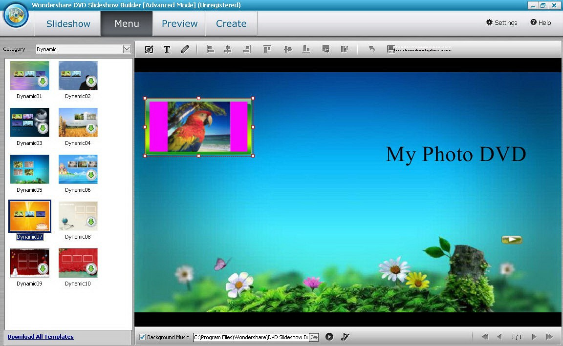 wondershare dvd slideshow builder free download
