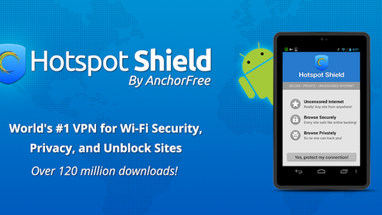 hotspot shield vpn download