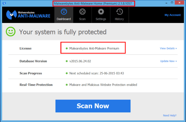 Malwarebytes Anti-Malware Premium Key - Update Crack ...