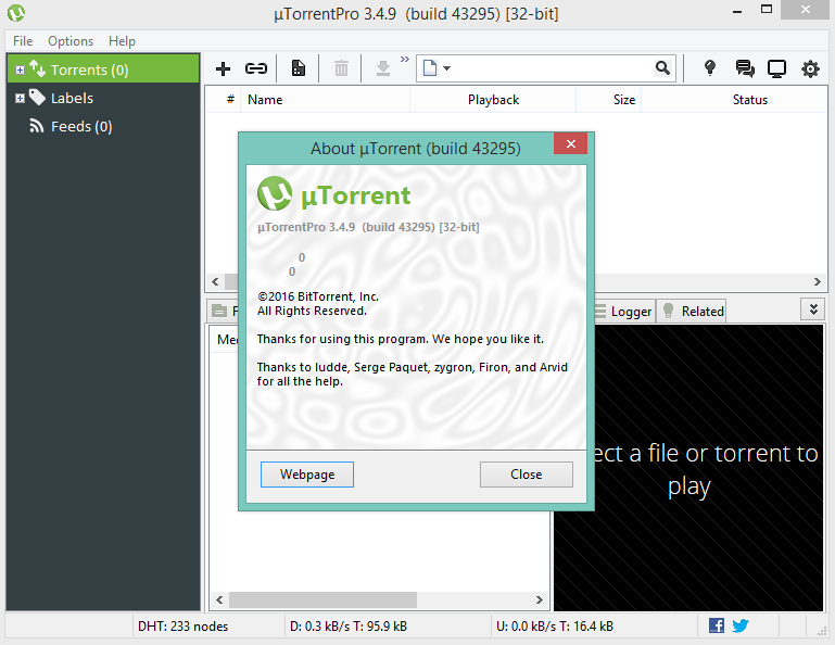 free download utorrent pro for pc