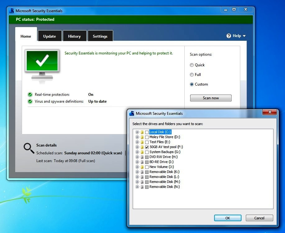 microsoft security essentials android